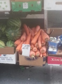 GIANT CARROTS ~~~ sooo tempting