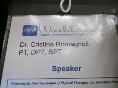 Dr.Romagnoli, PT,DPT,SPT