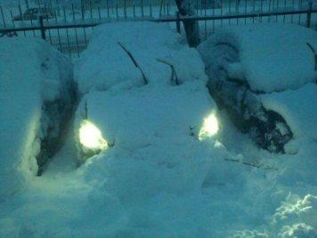 car-under-snow